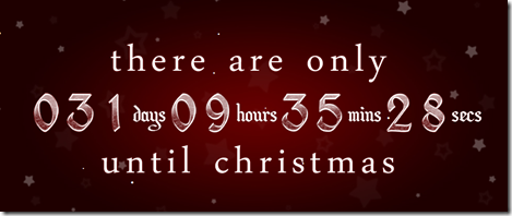 Days to Xmass